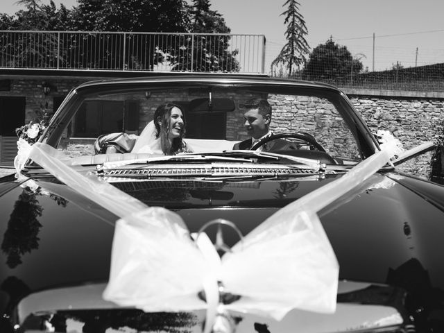 Il matrimonio di Gianluca e Fabiana a Fortunago, Pavia 35