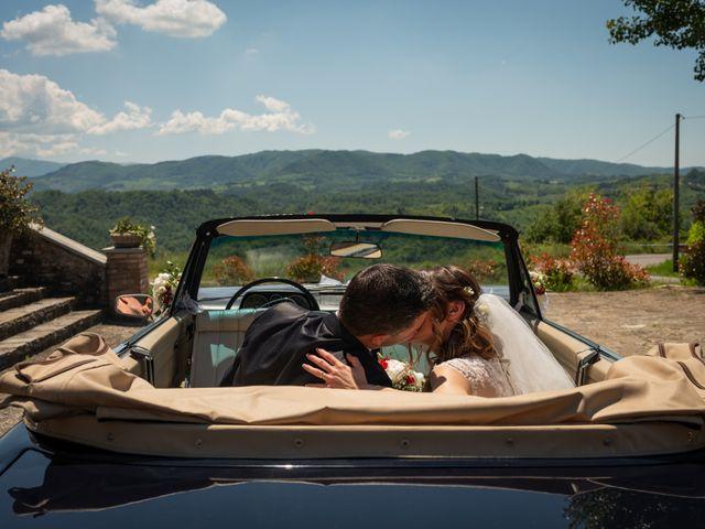 Il matrimonio di Gianluca e Fabiana a Fortunago, Pavia 36
