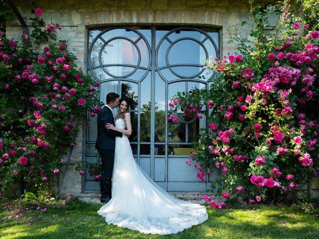 Il matrimonio di Gianluca e Fabiana a Fortunago, Pavia 43