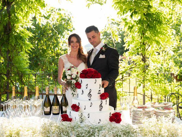 Il matrimonio di Gianluca e Fabiana a Fortunago, Pavia 50
