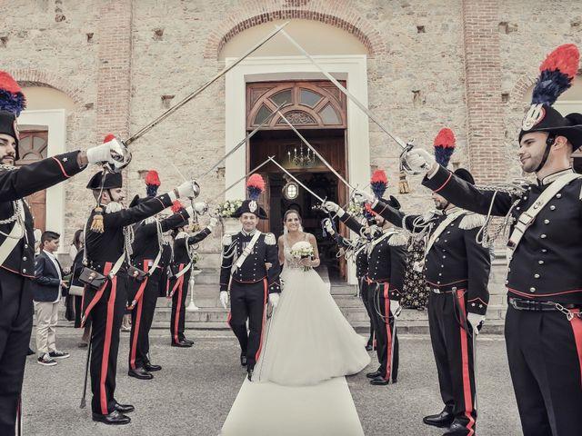 Il matrimonio di Martina e Giovanni a Torre Orsaia, Salerno 1