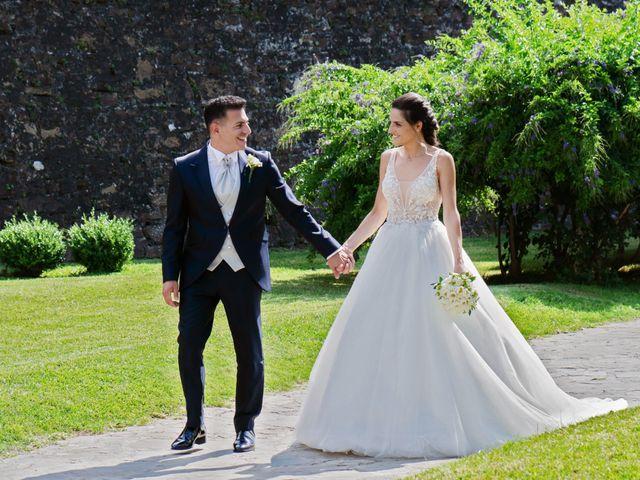 Il matrimonio di Martina e Giovanni a Torre Orsaia, Salerno 2