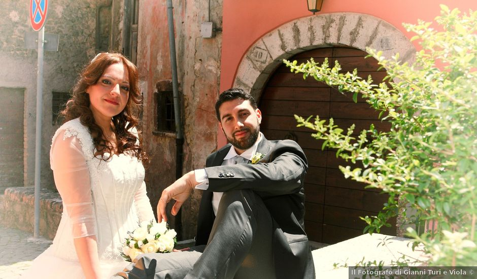 Il matrimonio di daniele e daniela a Tagliacozzo, L'Aquila