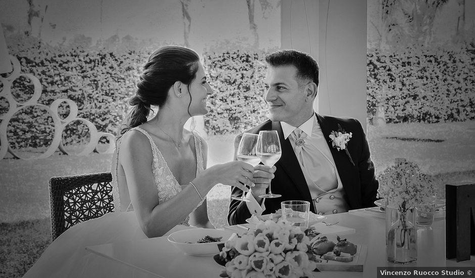 Il matrimonio di Martina e Giovanni a Torre Orsaia, Salerno