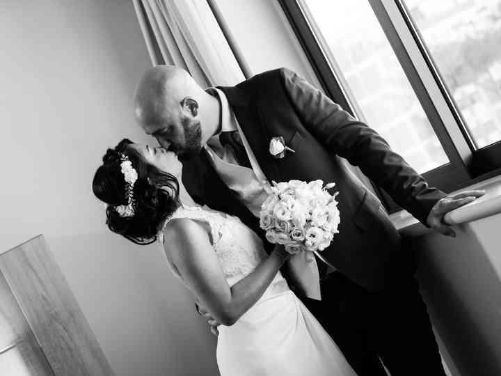 le nozze di Tina e Sylvain