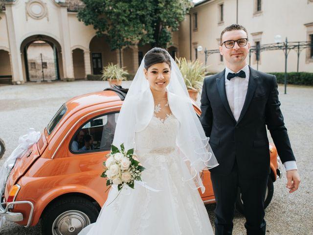 Il matrimonio di Claudio e Yeni a Cappella Cantone, Cremona 32
