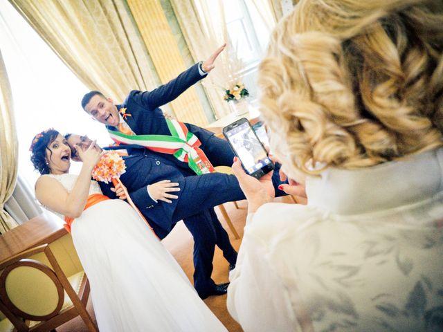 Le nozze di Manuel e Elena