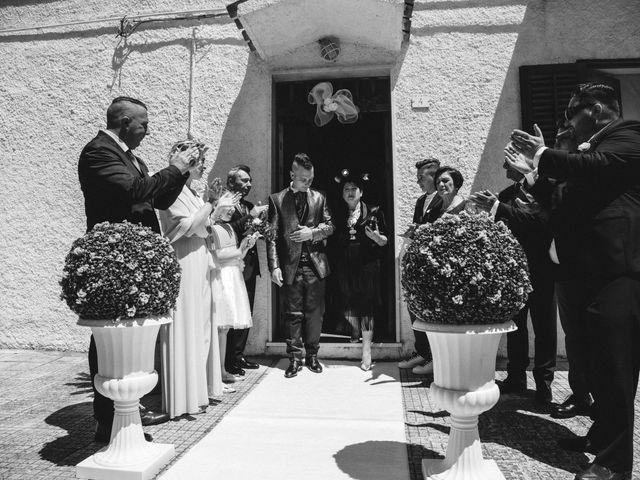Il matrimonio di Sonia e Salvatore a Vallelunga Pratameno, Caltanissetta 24