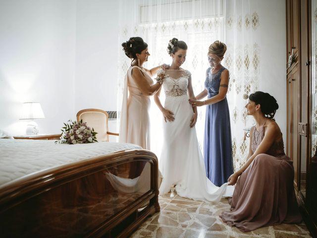Il matrimonio di Sonia e Salvatore a Vallelunga Pratameno, Caltanissetta 35