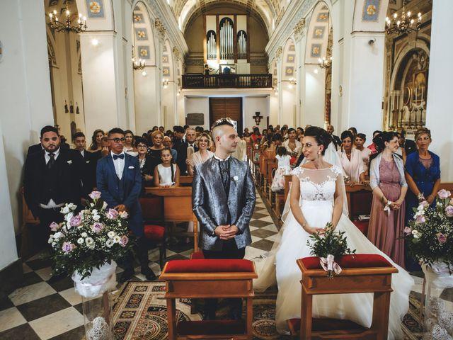Il matrimonio di Sonia e Salvatore a Vallelunga Pratameno, Caltanissetta 61