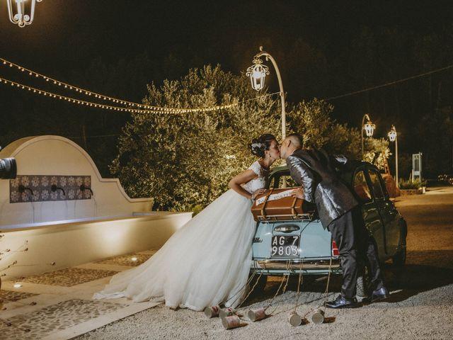 Il matrimonio di Sonia e Salvatore a Vallelunga Pratameno, Caltanissetta 96