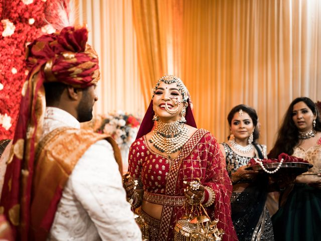 Le nozze di Sourabh e Namita