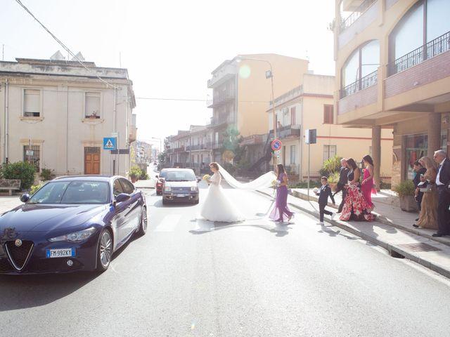 Il matrimonio di Andrea e Cinzia a Spadafora, Messina 12