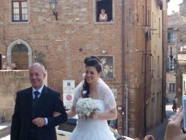 Il matrimonio di Simone e Chiara a Peccioli, Pisa 20