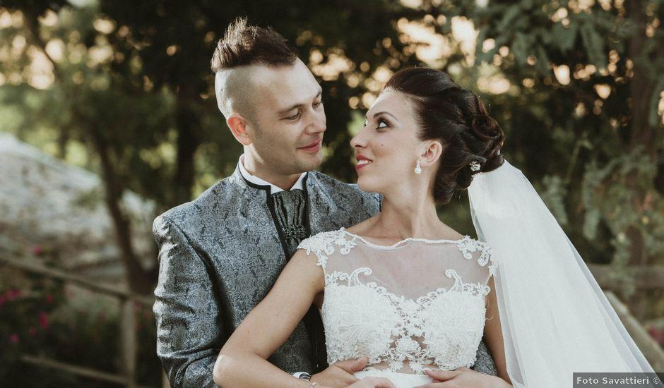 Il matrimonio di Sonia e Salvatore a Vallelunga Pratameno, Caltanissetta