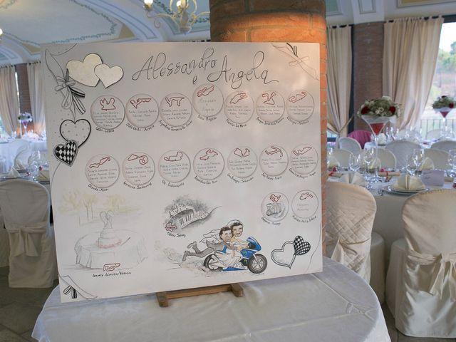 Il matrimonio di Angela e Alessandro a Colle di Val d'Elsa, Siena 17
