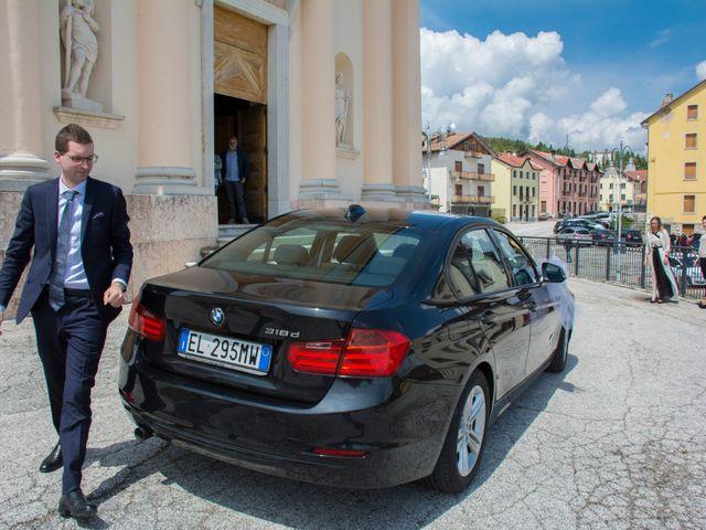 Il matrimonio di Cristiano e Valentina a Tonezza del Cimone, Vicenza 20