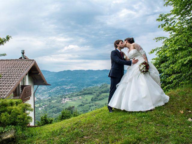 Il matrimonio di Cristiano e Valentina a Tonezza del Cimone, Vicenza 183