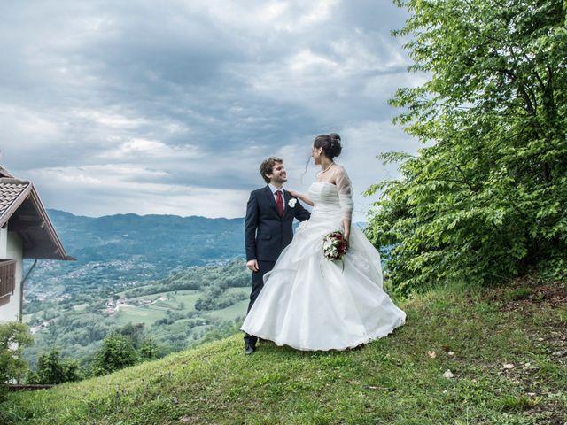 Il matrimonio di Cristiano e Valentina a Tonezza del Cimone, Vicenza 184
