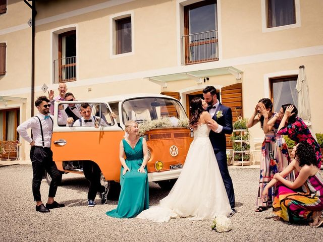 Il matrimonio di Davide e Alice a Moriago della Battaglia, Treviso 43
