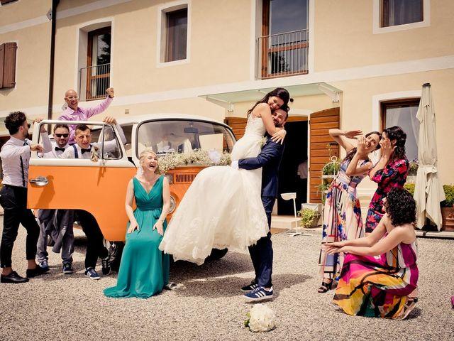 Il matrimonio di Davide e Alice a Moriago della Battaglia, Treviso 44