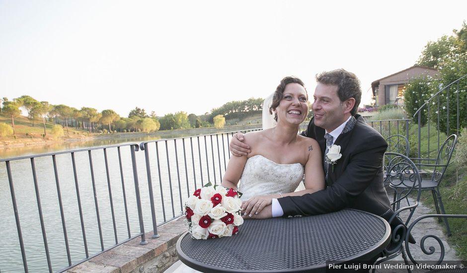 Il matrimonio di Angela e Alessandro a Colle di Val d'Elsa, Siena