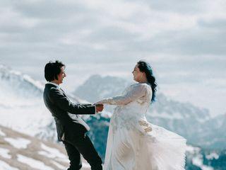 Le nozze di Claire e Steve