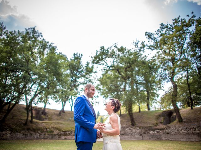 Le nozze di Cinzia e Cristiano