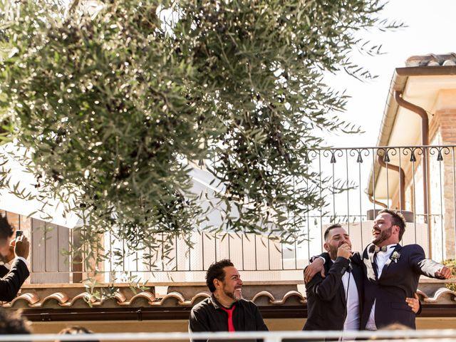 Il matrimonio di Dimitri e Alessandra a Palombara Sabina, Roma 18