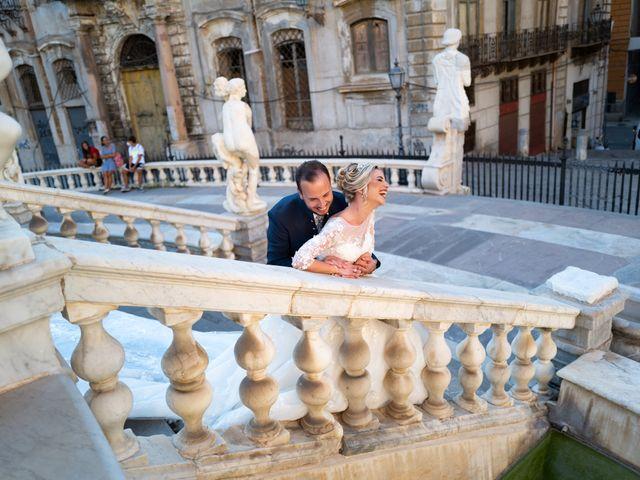 Il matrimonio di Giovanbattista e Alessia a Palermo, Palermo 15