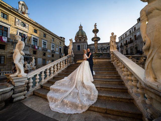 Il matrimonio di Giovanbattista e Alessia a Palermo, Palermo 32