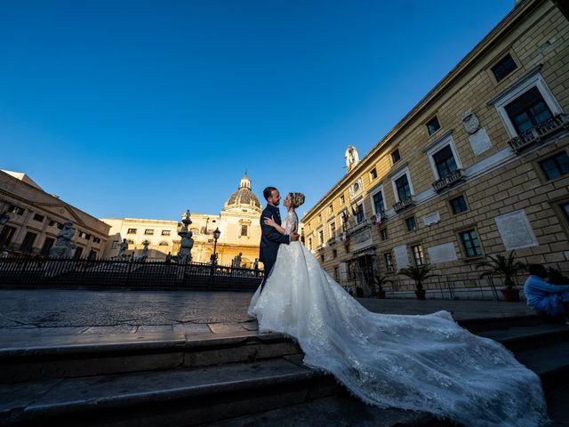 Il matrimonio di Giovanbattista e Alessia a Palermo, Palermo 33
