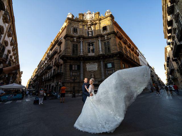 Il matrimonio di Giovanbattista e Alessia a Palermo, Palermo 34