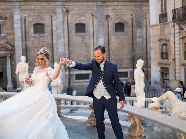 Il matrimonio di Giovanbattista e Alessia a Palermo, Palermo 48