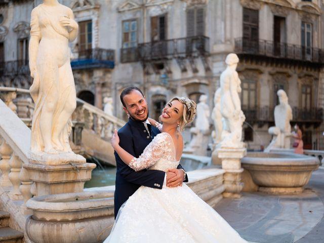 Il matrimonio di Giovanbattista e Alessia a Palermo, Palermo 51