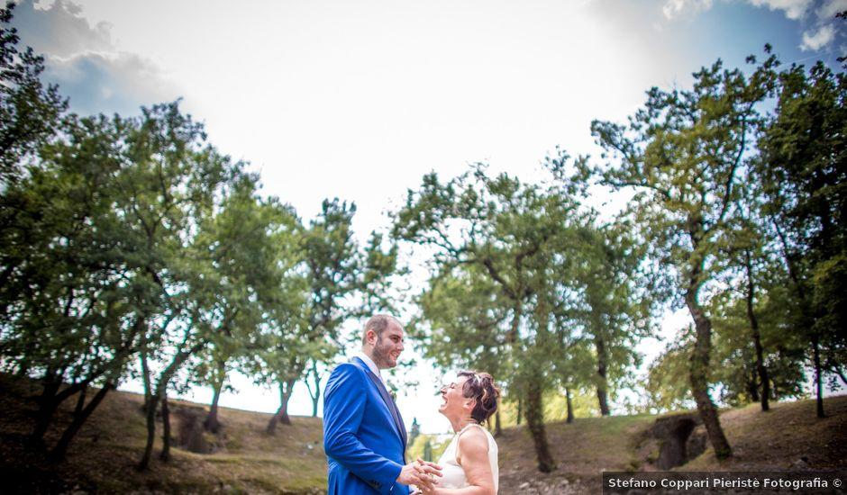 Il matrimonio di Cristiano e Cinzia a Urbisaglia, Macerata