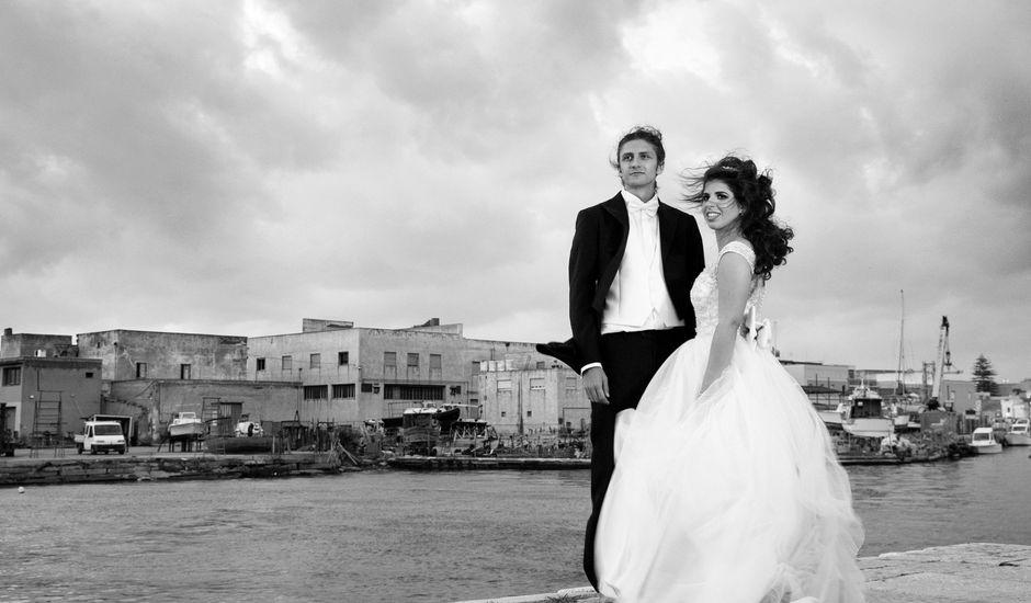 Il matrimonio di Davide e Alessandra a Marsala, Trapani