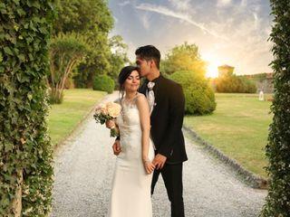 Le nozze di Federica e Caragliano