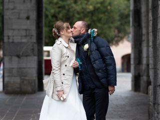 Le nozze di Olya e Fede