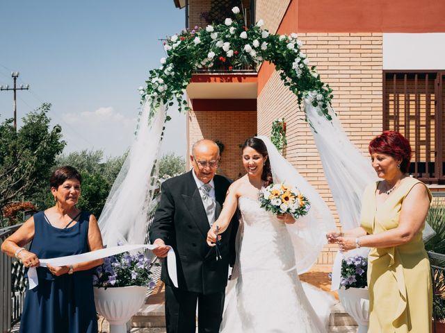 Il matrimonio di Fabio e Silvia a Grottaferrata, Roma 10