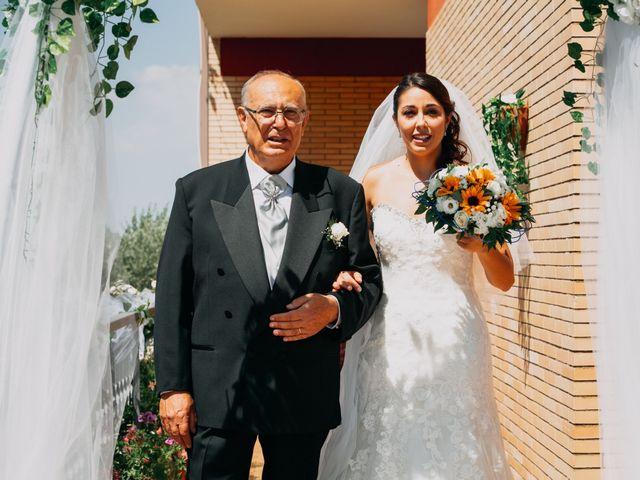 Il matrimonio di Fabio e Silvia a Grottaferrata, Roma 49