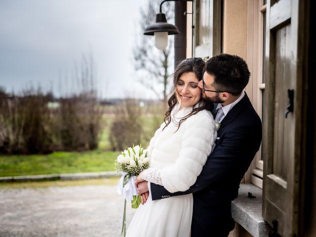 Il matrimonio di Giorgia e Davide a Cernusco sul Naviglio, Milano 1