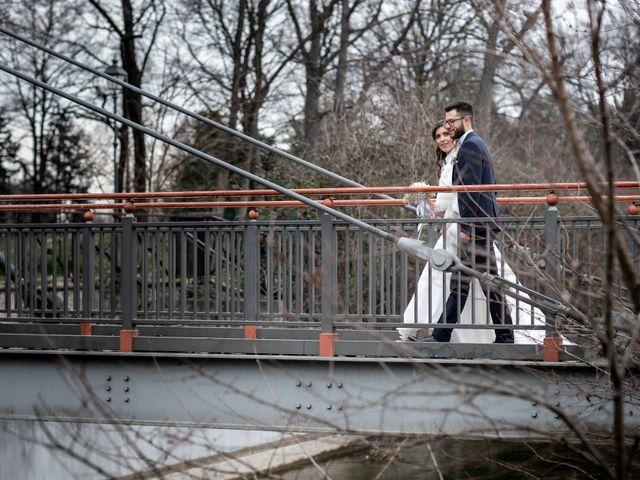 Il matrimonio di Giorgia e Davide a Cernusco sul Naviglio, Milano 45