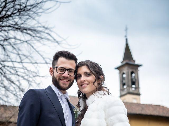 Il matrimonio di Giorgia e Davide a Cernusco sul Naviglio, Milano 46