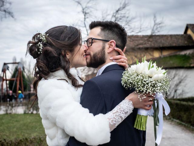 Il matrimonio di Giorgia e Davide a Cernusco sul Naviglio, Milano 50
