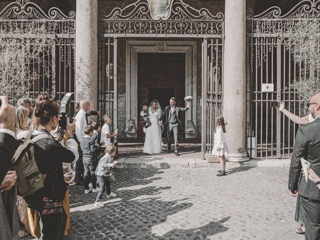 Il matrimonio di Fabiana e Luca a Roma, Roma 35