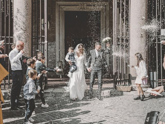 Il matrimonio di Fabiana e Luca a Roma, Roma 36