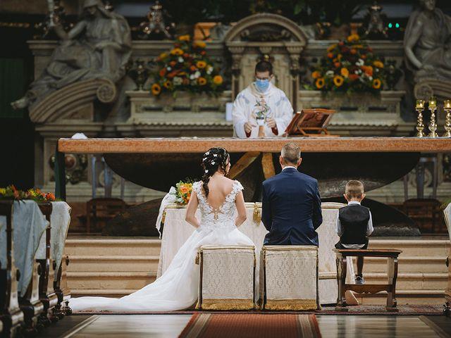 Il matrimonio di Alessandro e Federica a Montichiari, Brescia 20