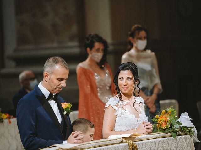 Il matrimonio di Alessandro e Federica a Montichiari, Brescia 21