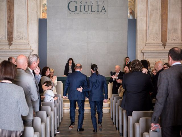 Il matrimonio di Manuel e Alessandro a Brescia, Brescia 33